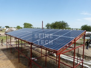 Solar PV array view 5kW